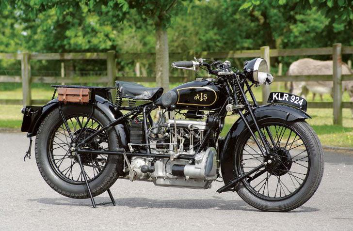 AJS bike