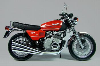 Benelli motorbike