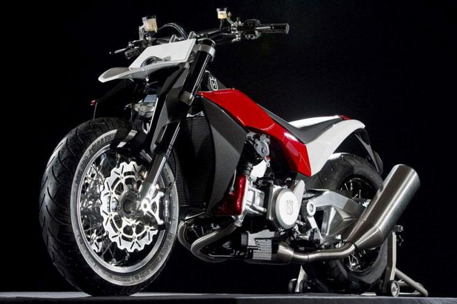Husqvarna motorbike