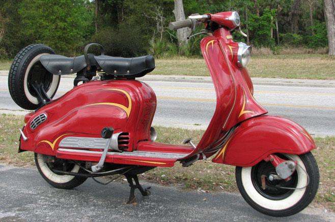 Lambretta motorcycle