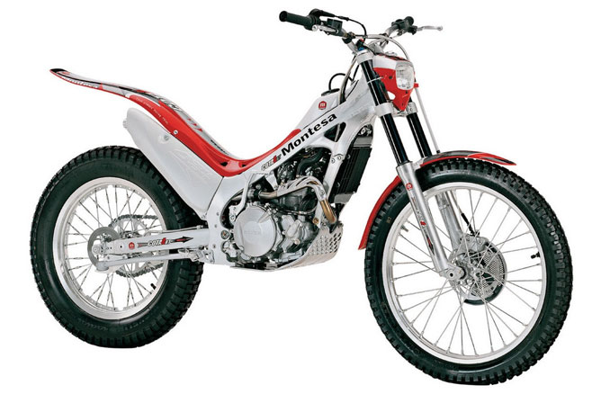 Montesa motorbike