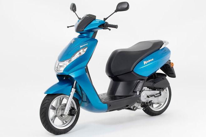 Peugeot motorbike