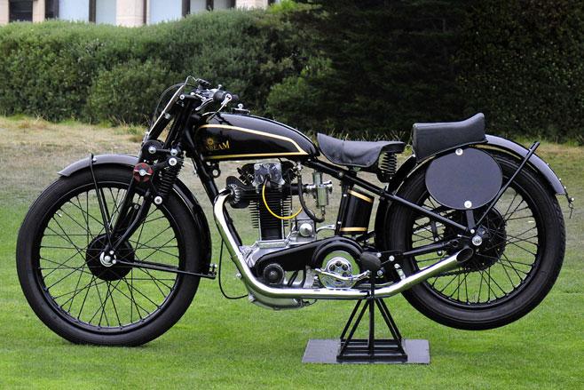 Sunbeam motorbike