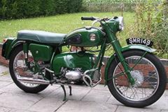 Velocette motorbike