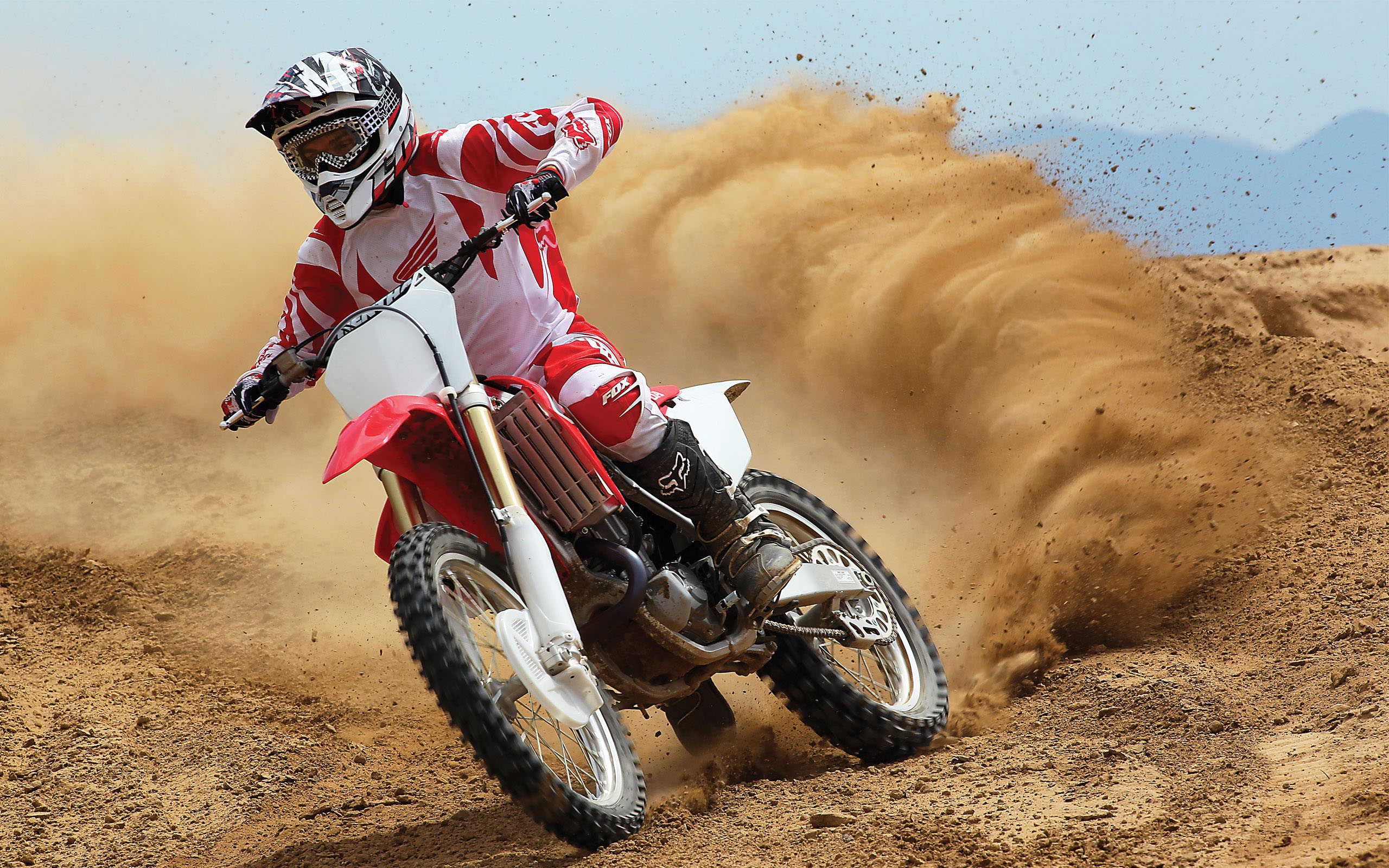 pc wallpaper Honda CRF450R 2560x1600