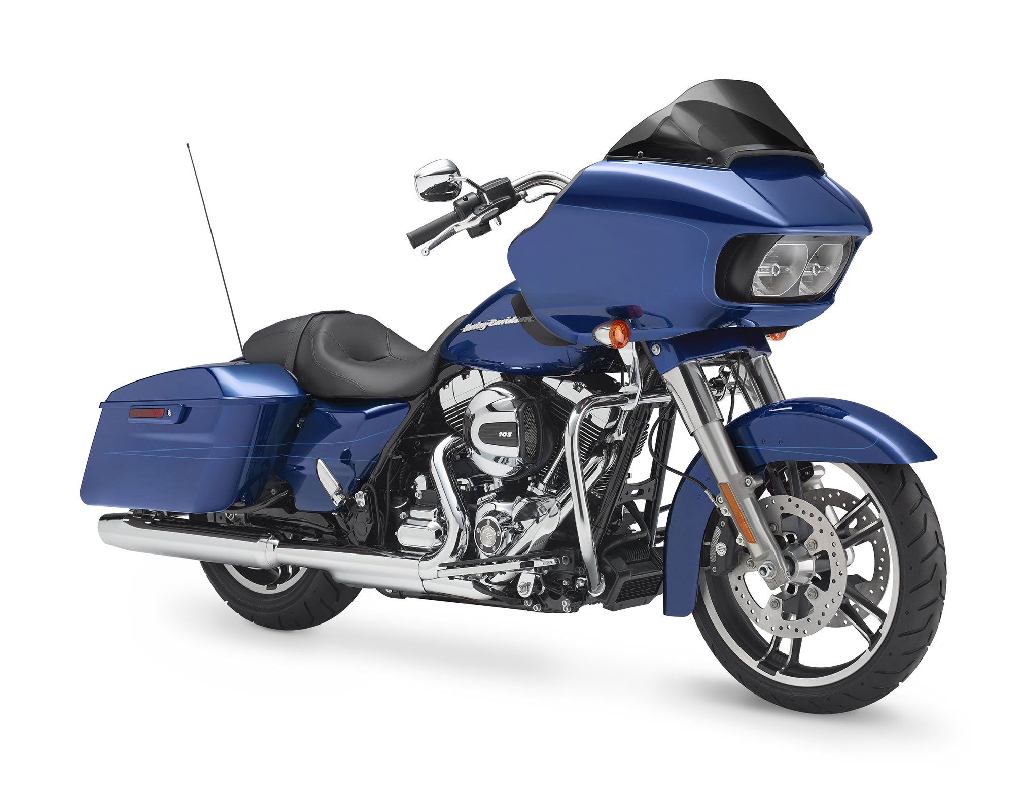pc wallpaper Harley-Davidson Road Glide Special 2015