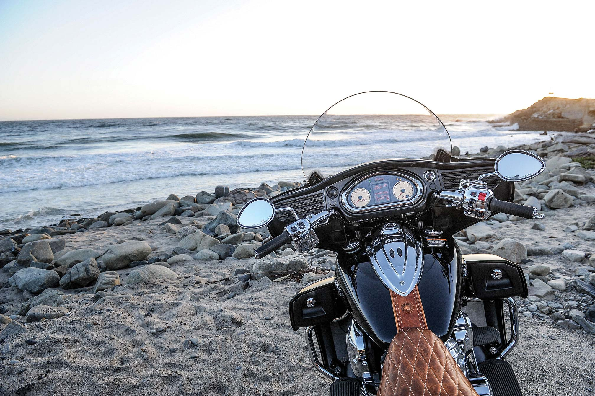 pc wallpaper Indian Roadmaster 2015 Ocean View