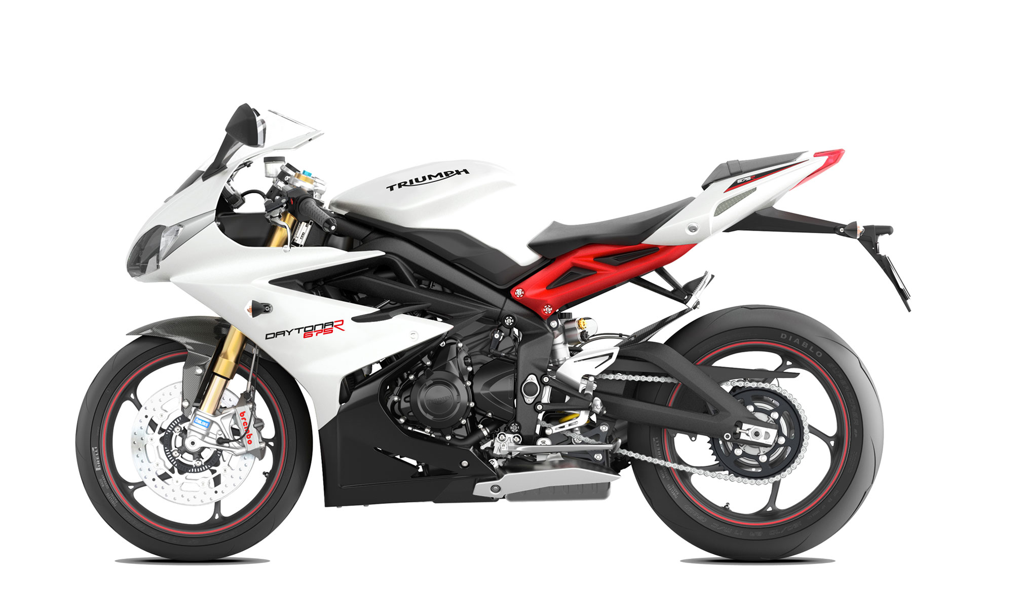 pc wallpaper Triumph Daytona 675R ABS 2015