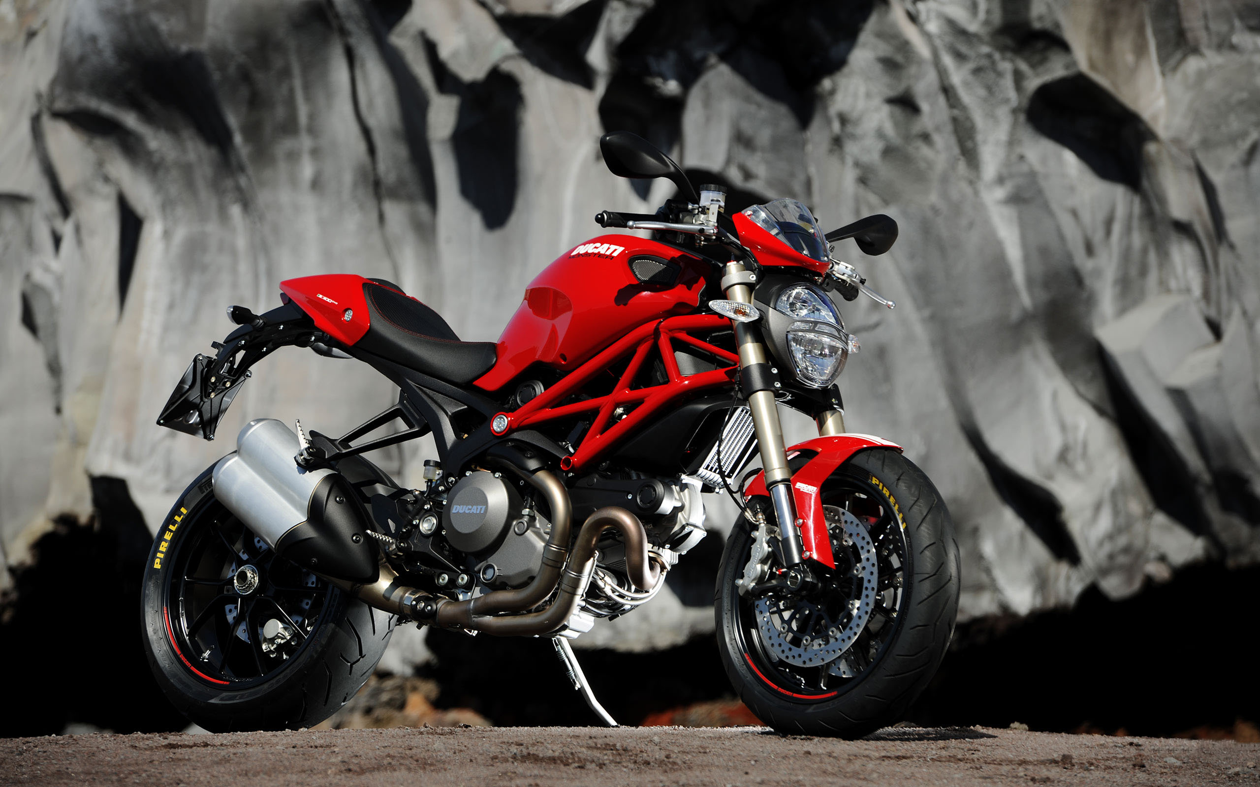 pc wallpaper Ducati Monster 1100 EVO 2560x1600