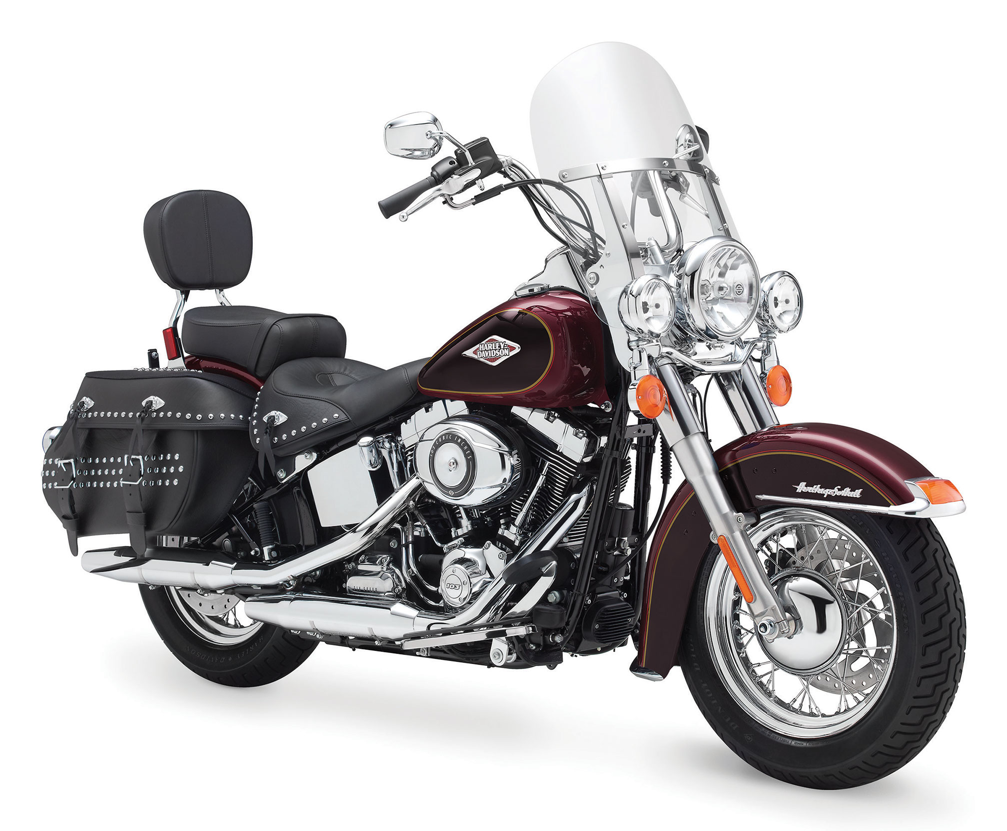pc wallpaper Harley-Davidson FLSTC Heritage Softail Classic